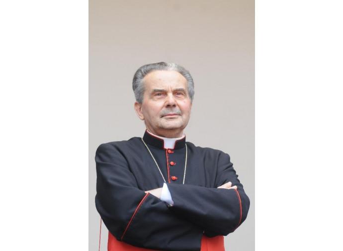 Il cardinal Carlo Caffarra