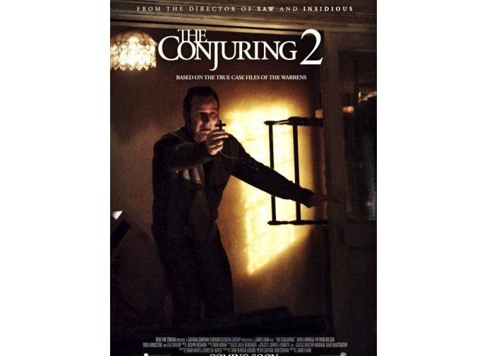 La locandina del film The Conjuring 2
