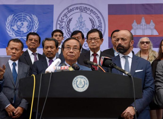 La conferenza stampa dopo la sentenza storica
