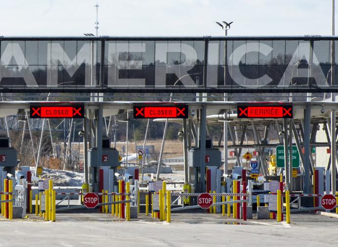 La chiusura della frontiera Usa-Canada