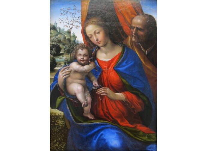 Il Sodoma (1477–1549) La Santa Famiglia Alte Pinakothek Monaco di Baviera, Germania sec. XVI (1510 -1520)
