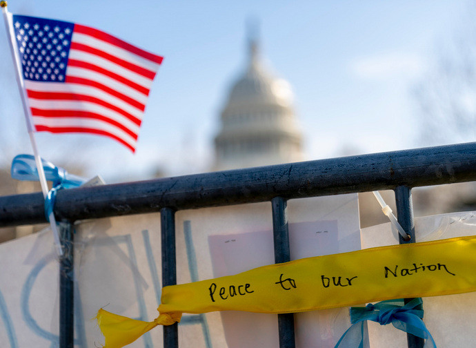 Capitol Hill protetta dalla Guardia Nazionale