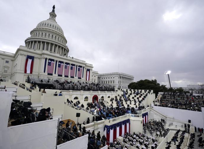 Campidoglio il giorno dell'inaugurazione