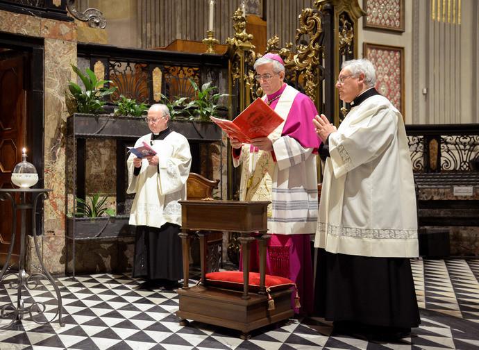 Monsignor Napolioni il 27 aprile a Caravaggio