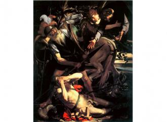 La conversione di Paolo nel gioco di luce del Caravaggio