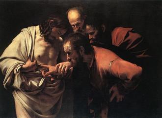 Tommaso, l'incredulità svanisce davanti alla Presenza