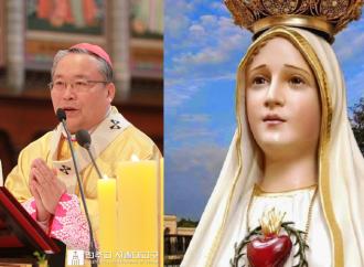 «Pace in Corea e libertà di culto nel Nord, la Madonna ci guidi»