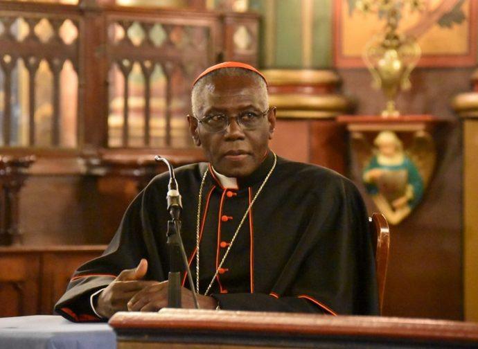 Il cardinale Robert Sarah