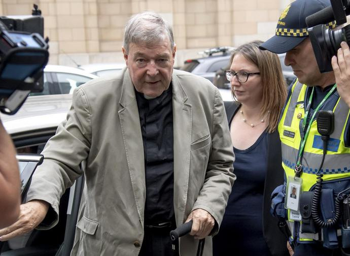 Il cardinale George Pell