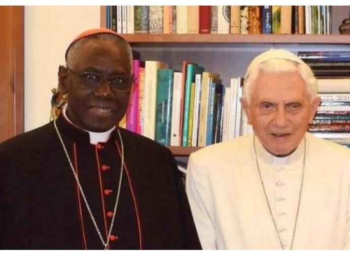 Il cardinale Sarah e Benedetto XVI