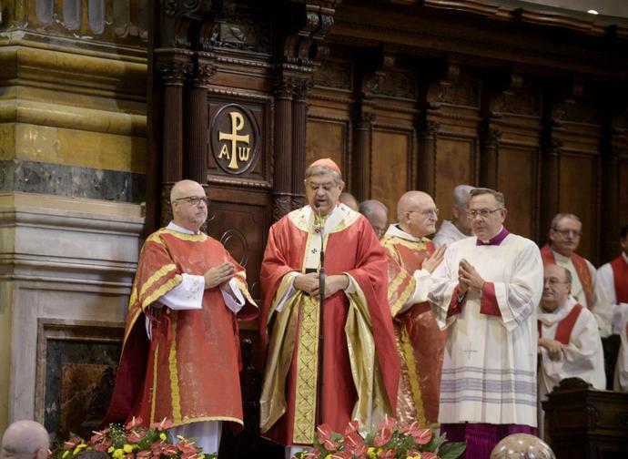 Il cardinale Sepe
