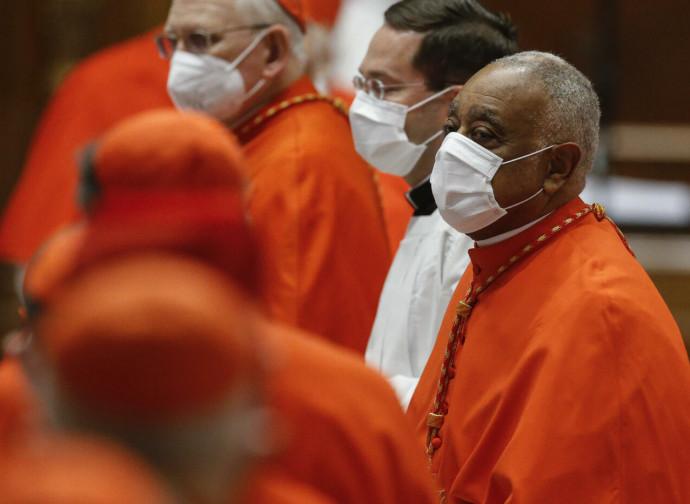 I nuovi cardinali (mons. Gregory in primo piano)