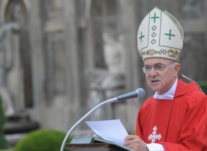 L'arcivescovo Carlo Maria Viganò