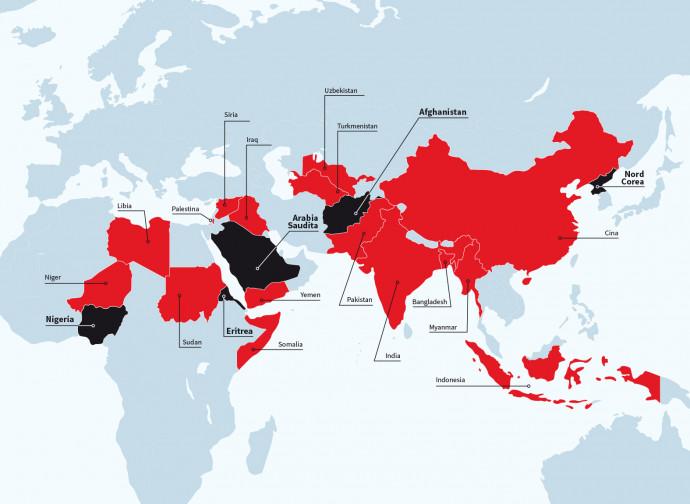 Mappa della persecuzione