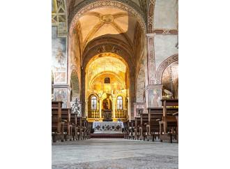 La chiesa dei martiri con gli affreschi giotteschi