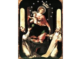 Il dipinto miracoloso di Maria del Rosario a Pompei