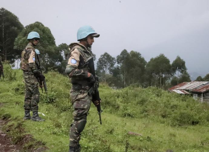 Congo, caschi blu sul luogo dell'attentato