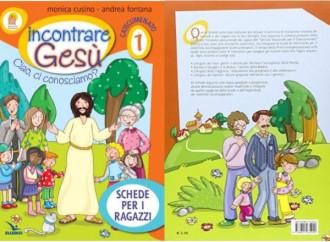 Coppia gay fa capolino nel catechismo per bambini