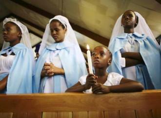Cresce il numero dei cattolici nel mondo. Ma pesano meno