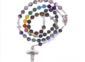 E' arrivato il rosario arcobaleno