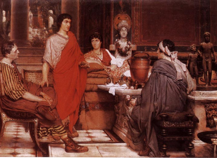 Catullo e Lesbia (Laurence Alma Tadema)