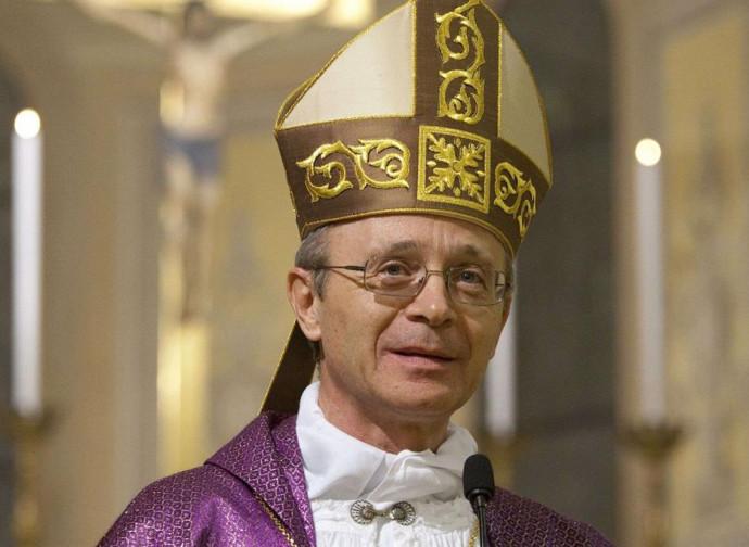 Il vescovo di Carpi Francesco Cavina