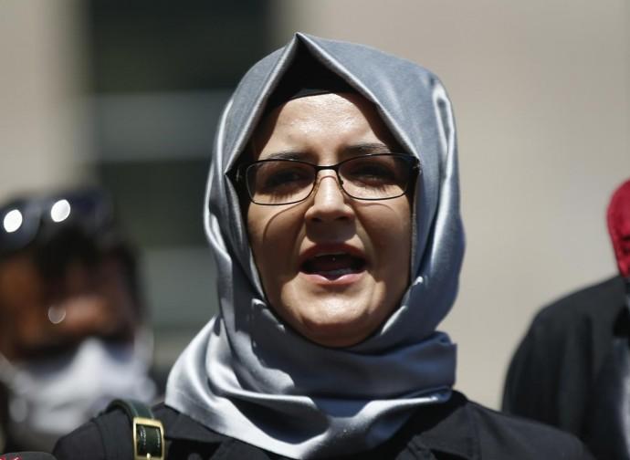Hatice Cengiz, fidanzata del defunto Jamal Khashoggi, era spiata con Pegasus
