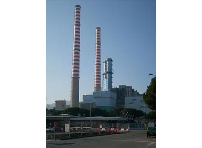 La centrale di Vado Ligure
