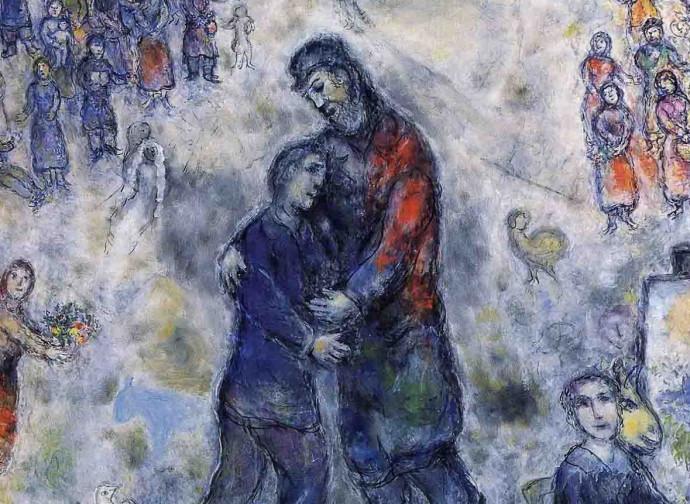 Il figliol prodigo di Chagall, la ritrovata serenità - La Nuova ...