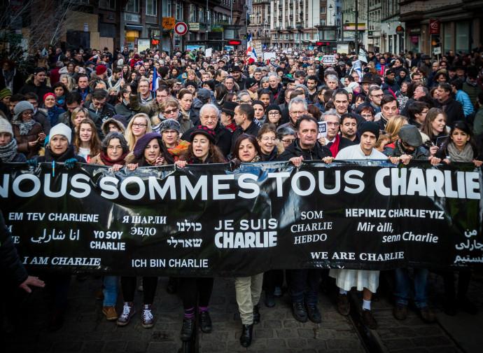 Solidarietà a Charlie Hebdo