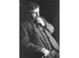 G.K. Chesterton, anche Bergoglio lo vuole santo