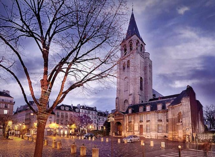 Saint-Germain-des-Prés dove è sepolto il corpo di San Germano di Parigi