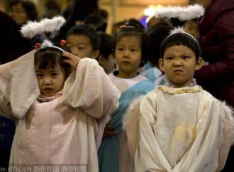 Cina. Un Natale senza bambini