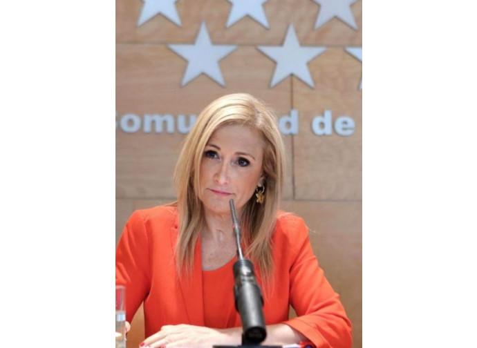 Cristina Cifuentes (PP) estensore della legge