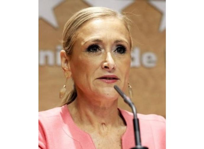 Il governatore di Madrid Cristina Cifuentes