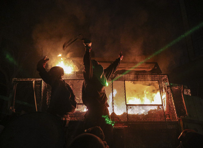 Violenza di piazza in Cile
