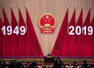E il regime cinese celebra se stesso