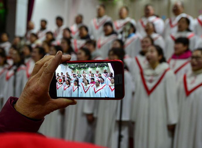 Cina, coro religioso