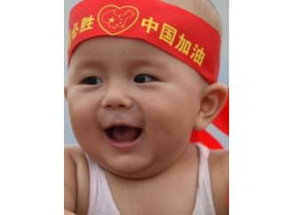 """Cina, due """"figli unici"""" saranno consentiti"""