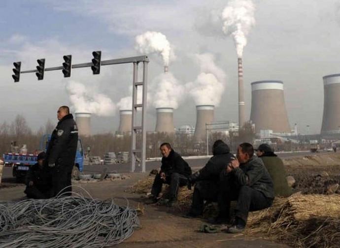 Cina, impianti a carbone