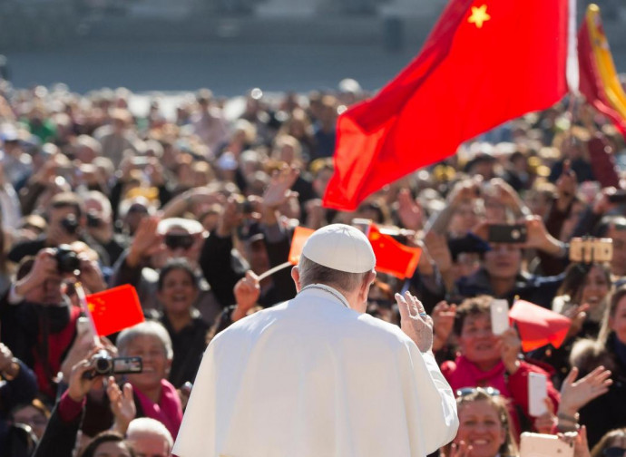 Cinesi in San Pietro dal Papa