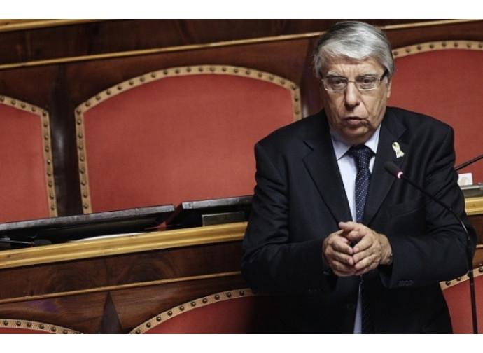 Il senatore del Ncd Carlo Giovanardi