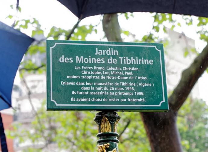 Il Giardino dedicato ai monaci di Tibhirine a Parigi