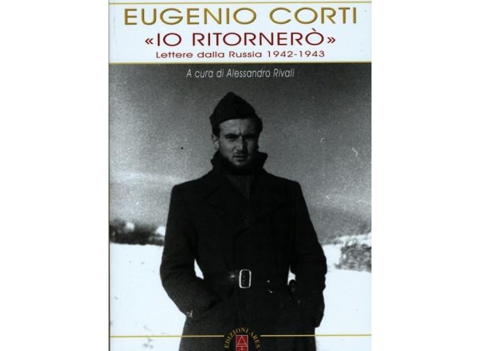 """La copertina del libro """"Io ritornerò"""" di Eugenio Corti"""