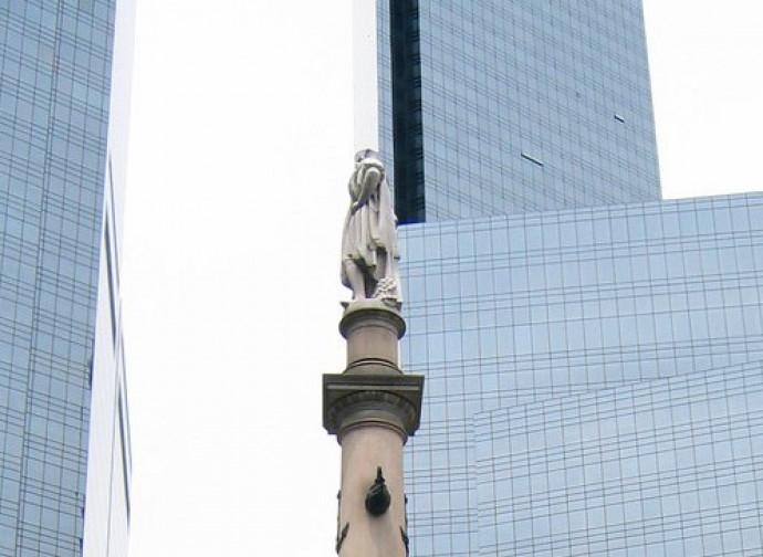 Colombo fra i grattacieli. Columbus Circle, New York
