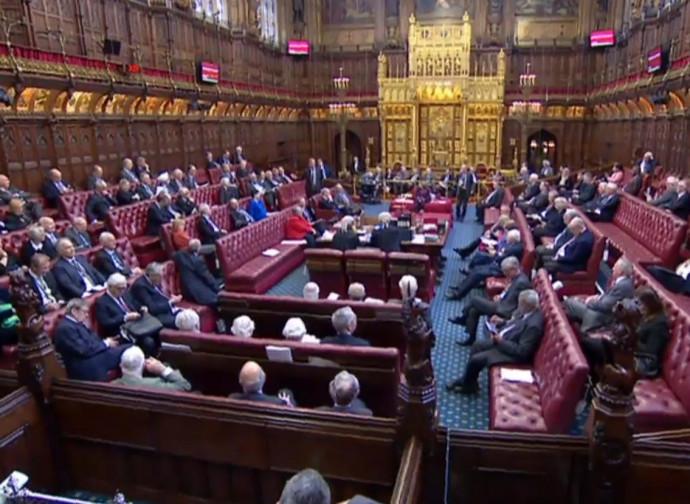 Camera dei comuni del Parlamento britannico