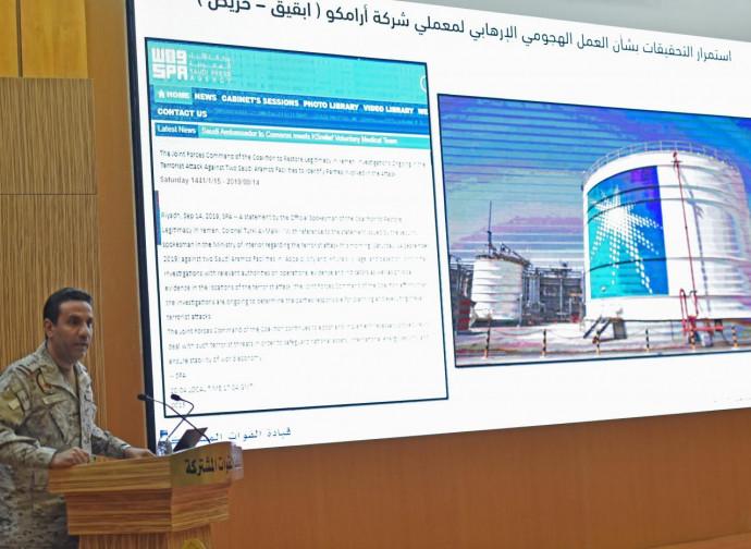 Crisi nel Golfo, conferenza stampa di Turki al Maliki