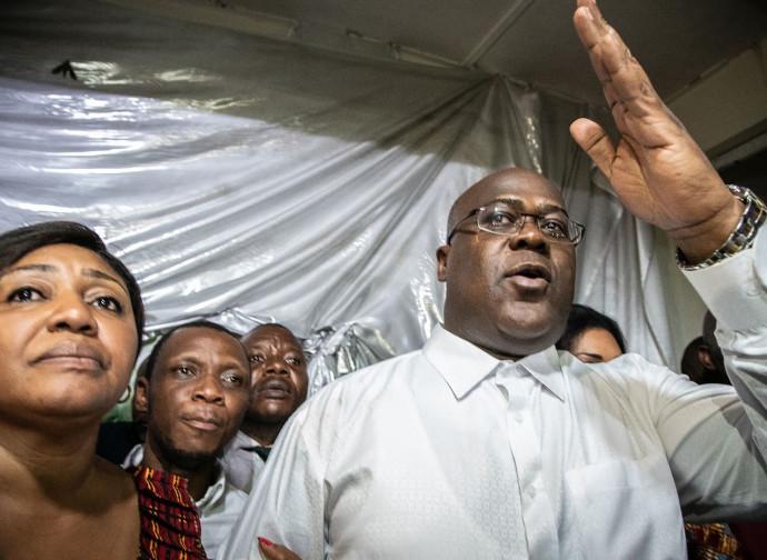 Il neoeletto presidente del Congo
