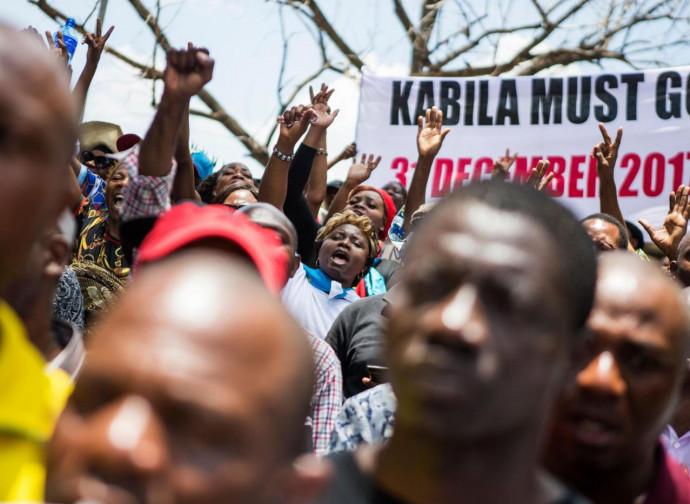 Manifestazioni contro Kabila in Congo