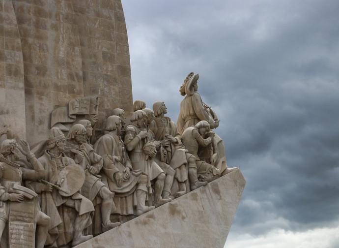 Lisbona, monumento agli scopritori dell'America